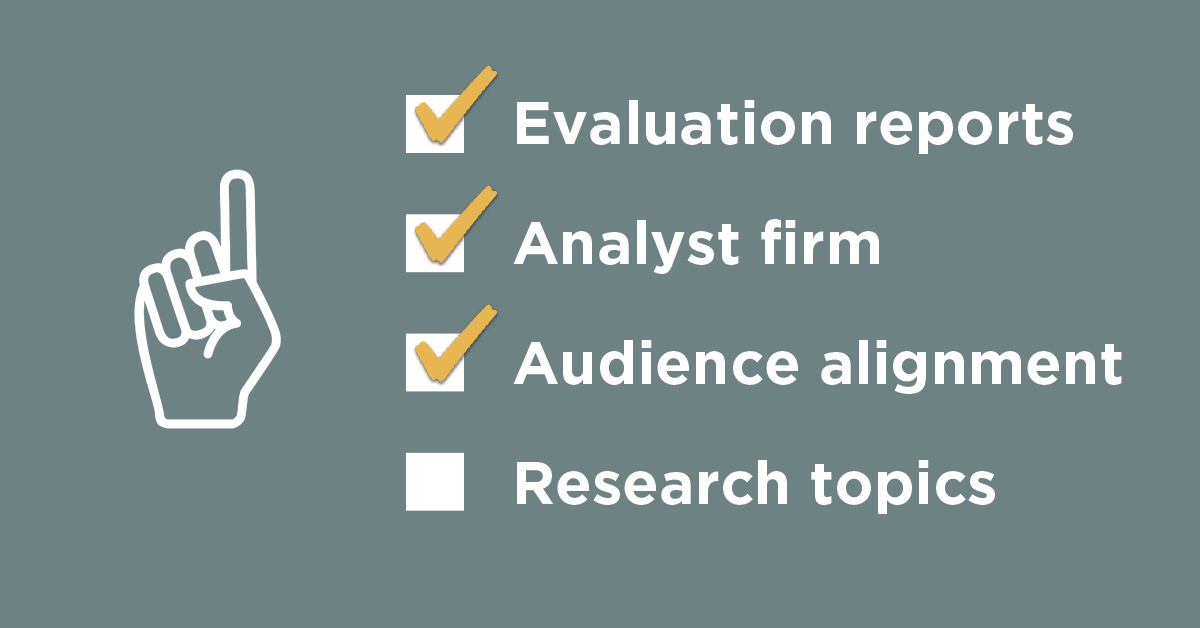 The workflow you need for managing inbound analyst requests